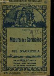 Meours Des Germains - Vie D'Agricola - Couverture - Format classique