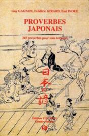 Proverbes japonais ; 365 proverbes pour tous les jours - Couverture - Format classique