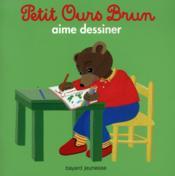 Petit Ours Brun aime dessiner - Couverture - Format classique