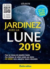 Jardinez avec la Lune (édition 2019) - Couverture - Format classique
