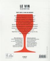 Le vin en seul coup d'oeil (2e édition) - 4ème de couverture - Format classique