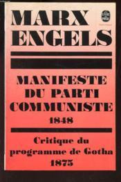 Manifeste du parti communiste - Couverture - Format classique