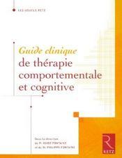 Guide clinique de thérapie comportementale et cognitive - Intérieur - Format classique