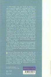 La Lecture Publique A L'Heure Intercommunale - 4ème de couverture - Format classique