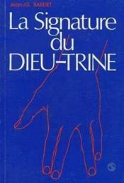 Signature du dieu-trine - Couverture - Format classique