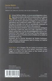 Le tour maudit - 4ème de couverture - Format classique