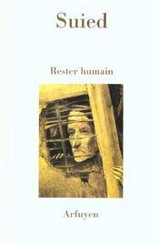 Rester humain - Intérieur - Format classique