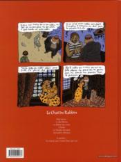 Le chat du rabbin T.1 ; la bar-mitsva - 4ème de couverture - Format classique
