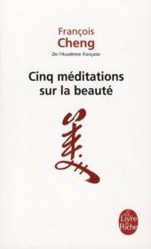 Cinq méditations sur la beauté - Couverture - Format classique
