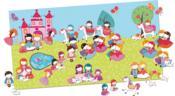 Je décore mon poster avec les gommettes ; les princesses - Couverture - Format classique