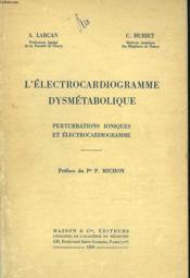 L'Electocardiogramme Dysmetabolique - Couverture - Format classique