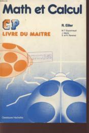 Math Et Calcul Cp / Lm - Couverture - Format classique