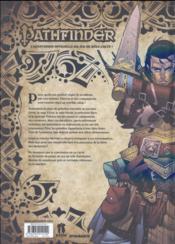 Pathfinder t.3 ; l'enfant de Lamashtu - 4ème de couverture - Format classique