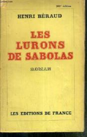 Les Lurons De Sabolas - Couverture - Format classique
