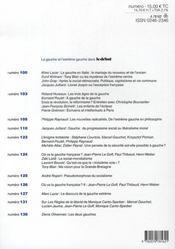 Revue Le Débat N.142 ; novembre-décembre 2006 - 4ème de couverture - Format classique