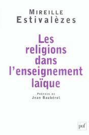 Les religions dans l'enseignement laïque - Intérieur - Format classique