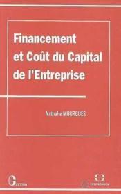 Financement Et Cout Du Capital De L'Entreprise - Couverture - Format classique