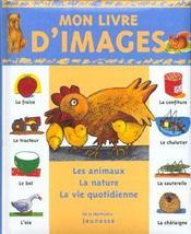 Mon livre d'images - Intérieur - Format classique