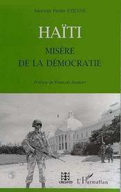 Haïti ; misère de la démocratie - Intérieur - Format classique