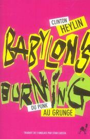 Babylon's burning - Intérieur - Format classique