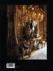 Splendeurs en héritage ; palais et châteaux des grandes familles d'europe - 4ème de couverture - Format classique