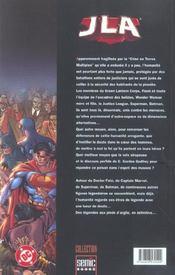 JLA ; légendes - 4ème de couverture - Format classique