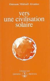 Vers une civilisation solaire - Couverture - Format classique