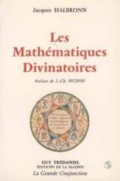 Mathematiques Divinatoires - Couverture - Format classique