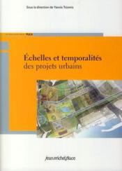 Échelles et temporalités des projets urbains - Couverture - Format classique