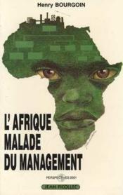 Afrique malade du management (l') - Couverture - Format classique