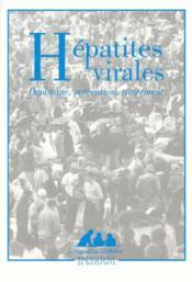 Hépatites virales : dépistage, prévention, traitement - Couverture - Format classique