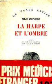 La Harpe Et L'Ombre. - Couverture - Format classique