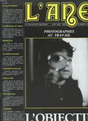 L ANE LE MAGAZINE FREUDIEN Novembre-Decembre 1984 n°19 : Photographes au travail. Le tercer Encuentro. La belle epoque de l opium. Barbara Pym.... - Couverture - Format classique