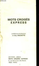 Mots Croises Express - Couverture - Format classique
