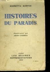 Histoires Du Paradis - Couverture - Format classique
