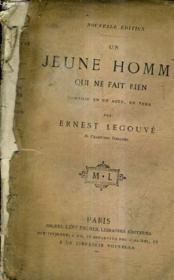 Un Jeune Homme Qui Ne Fait Rien Comedie En Un Acte En Vers / Nouvelle Edition. - Couverture - Format classique