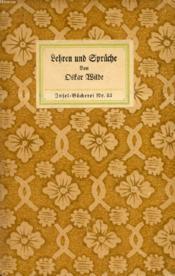 Lehren Und Sprüche - Couverture - Format classique