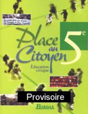 PLACE AU CITOYEN (édition 2004) - Couverture - Format classique