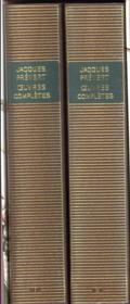 Coffret Prévert ; 2 volumes - 4ème de couverture - Format classique