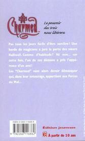 Charmed t.3 ; sortilege ecarlate - 4ème de couverture - Format classique