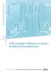 Ugv partage à distance en forge le bilan d'une expérience performances 3q53 - Couverture - Format classique