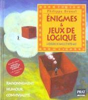 Enigmes Et Jeux De Logique - Intérieur - Format classique