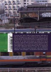 Halle Freyssinet le béton absolu - 4ème de couverture - Format classique
