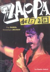 Zappa de Z à A - Couverture - Format classique
