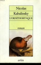 Ornithorynque - Couverture - Format classique