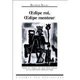 Oedipe Roi. Oedipe Menteur - Couverture - Format classique
