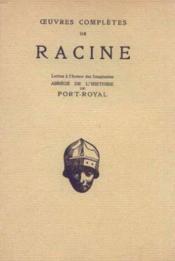 Lettres à l'auteur des imaginaires -abrégé de l'histoire de port-royal - Couverture - Format classique