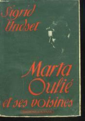 Marta Oulie Et Ses Voisines - Couverture - Format classique