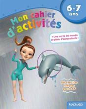 Mon cahier d'activités ; des exercices ludiques pour le CP ; 6-7 ans (dauphin) - Couverture - Format classique