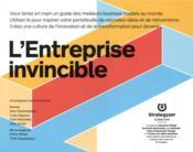 L'entreprise invincible ; réinventez votre business model - Couverture - Format classique